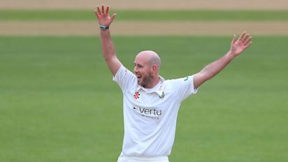 Chris Rushworth becomes Durham's record first-class wicket-taker in big win