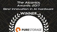 FlashBlade wins AIconics Best Innovation in AI Hardware