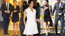 Warum Herzogin Meghan in der Schwangerschaft kürzere Röcke trägt – genauso wie Kate