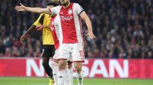 Foot - HOL - Ajax - Grosse frayeur pour Daley Blind (Ajax Amsterdam) en match amical