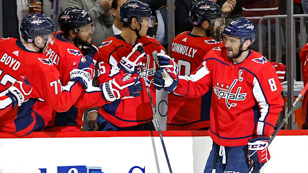 c3660f9ad08 Sidney Crosby and Alex Ovechkin get a little heated