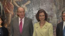 Los Reyes Juan Carlos y Sofía más unidos que nunca