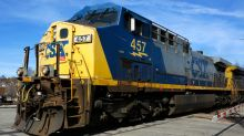 CSX railroad's first-quarter profit jumps to $695 million