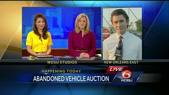 Abandoned car auction today