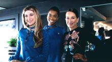 Sarah Jessica Parker and Cynthia Rowley Designed the Chicest Flight Attendant Uniforms of All Time