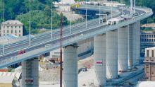 """Genova, pronto il nuovo ponte. Conte: """"E' l'Italia che si rialza"""""""