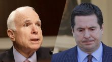 McCain: Nunes' action as intelligence committee chair 'very disturbing'