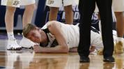 NCAA wouldn't let Haas play with broken elbow