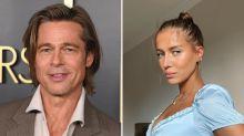 Brad Pitt's Girlfriend Nicole Poturalski Just Shut Down Her Instagram Haters