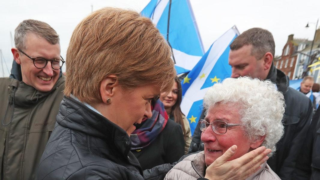 Campaign highlights: Sturgeon and Johnson press the flesh out on the trail