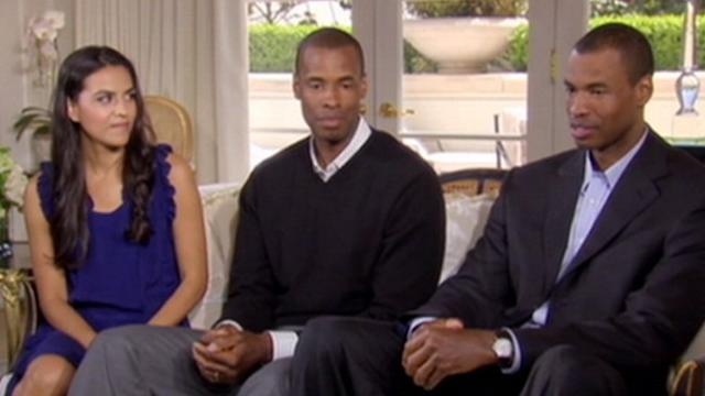 Jason Collins Joins Family for Oprah Interview