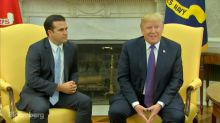 Trump Rates Himself a 10 Out of 10 on Puerto Rico Aid