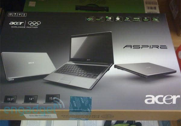 Acer Aspire Timeline visto al aire libre