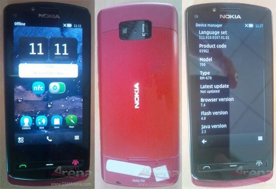 Nokia 700 'Zeta' caught in spyshots, ready to give mobile makeovers