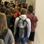 Student suspended after showing fellow students without masks