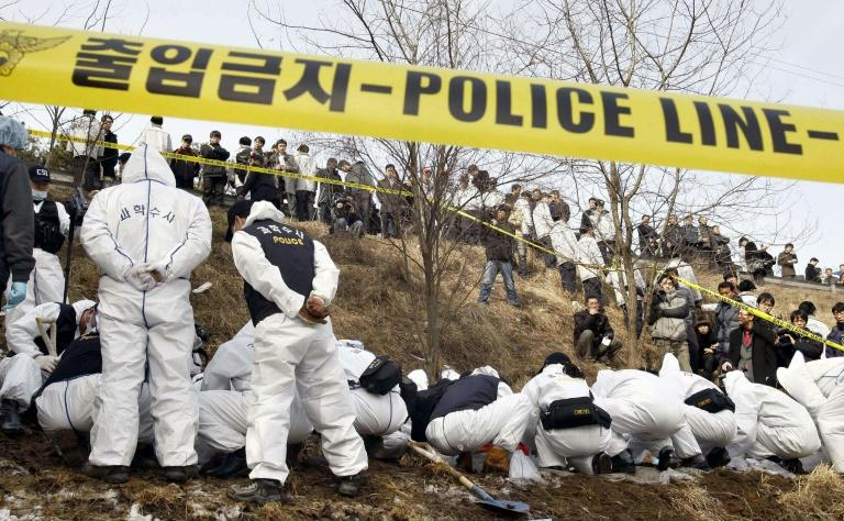 DNA 'traces serial killer' who murdered nine females in South Korea