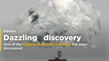 One of the Biggest Diamonds in History Has Just Been Discovered. It's the Size of 2 Golf Balls