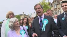 Farage hits back at calls for Brexit Party funding probe