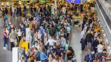 Chaos am Flughafen: In Frankfurt starten viele Flugzeuge mit Verspätung, weil es an Personal fehlt