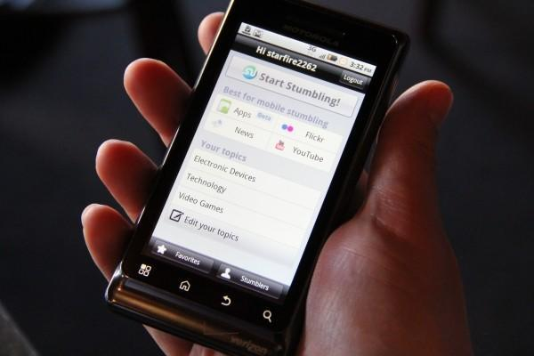 StumbleUpon launches App Discovery on Android, trips over clumsy interface