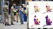 Four maps that show how the Indian variant took over in England in four weeks