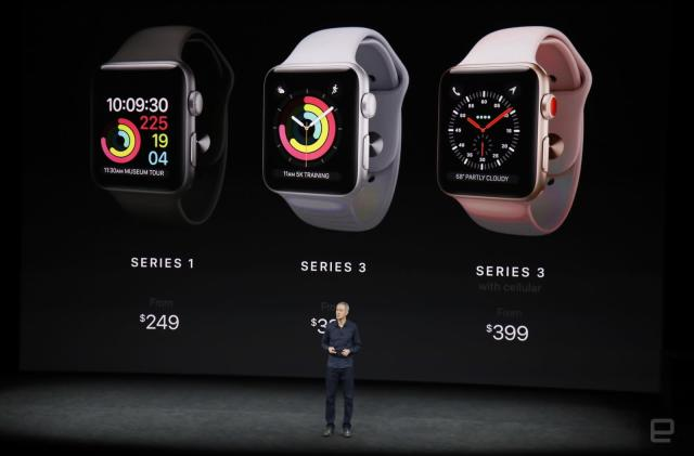 Apple Watch Series 3 gains LTE for $399