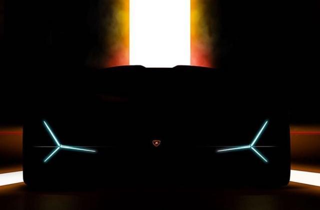 Lamborghini teaser hints at a hybrid 'hypercar'