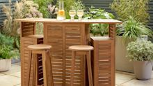 Upgrade your garden: Argos is selling an outdoor bar for under £250