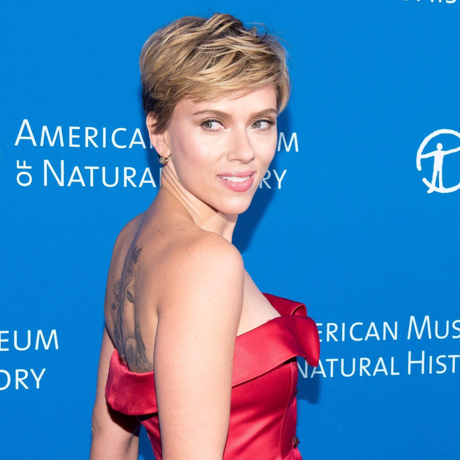 Ass johansson Scarlett Johansson's