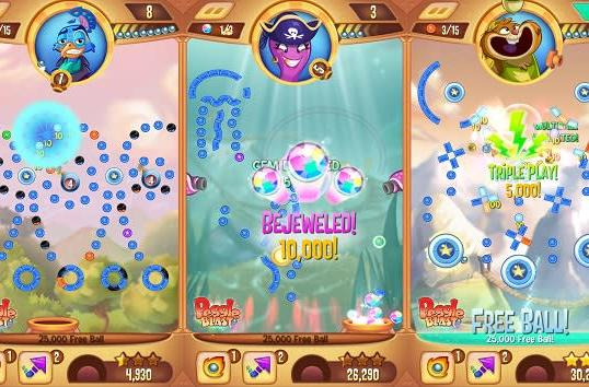 Peggle Blast hits iOS, Android this fall