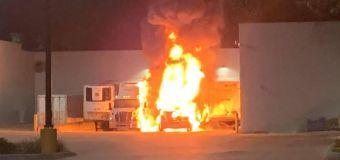 Florida Walmart evacuated after Black Friday fire