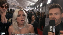 Lady Gaga Just Dragged Ryan Seacrest During Her Red Carpet Interview