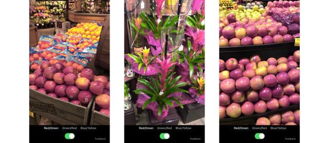 Microsoft's iOS app augments hues for color-blind folks