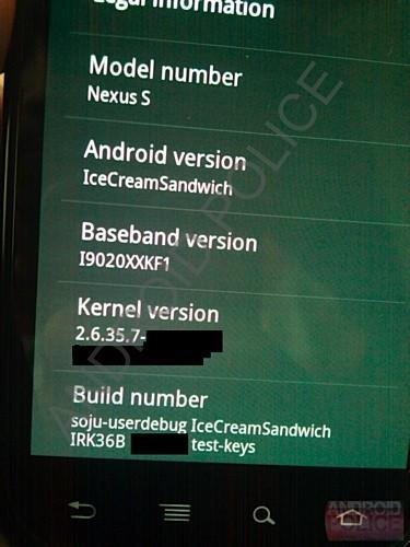 Android Ice Cream Sandwich pictures leak, leave us slightly cold
