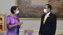 Thai PM tells UN envoy he won't push back Myanmar refugees