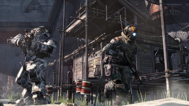 This is what Titanfall looks like on Xbox 360