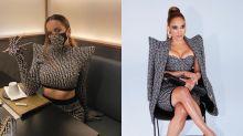 Rosalía le copia un Balmain a Jennifer Lopez: ¿a quién le queda mejor?
