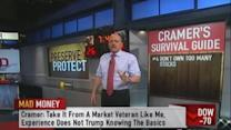 Cramer says don't own too many stocks