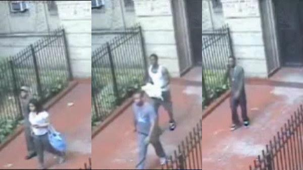 87-year-old woman robbed by 4 men, 1 woman