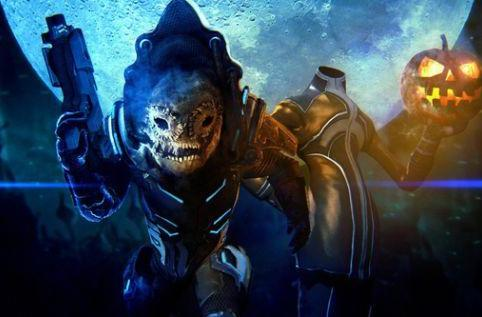 Mass Effect 3 goes trick-or-treating with a Halloween Challenge