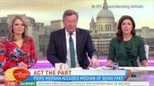 Piers Morgan accuses Meghan of being fake