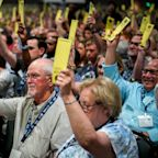 Southern Baptists elect new president, bucking effort to push denomination to the right