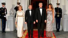 Melania Trump's state dinner gown was reincarnated from a Chanel couture jumpsuit
