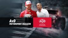 Berger und Rast zu Gast im AvD Motorsport Magazin