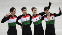 Hungary wins first-ever Winter Olympics gold with 5,000-meter short track relay victory