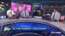 Cracks in the market are spreading and it could be pointi...
