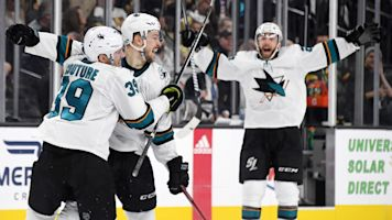 Sharks net shorthanded winner in double OT