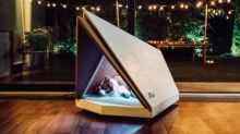 Ford draws up designs for noise-cancelling kennel to help dogs scared of fireworks