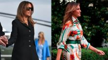 The 'Fake Melania' theory is back in a big way