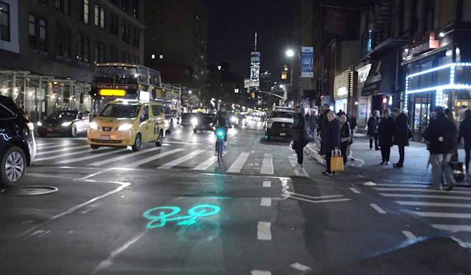 New York's Citi Bikes are getting laser safety lights
